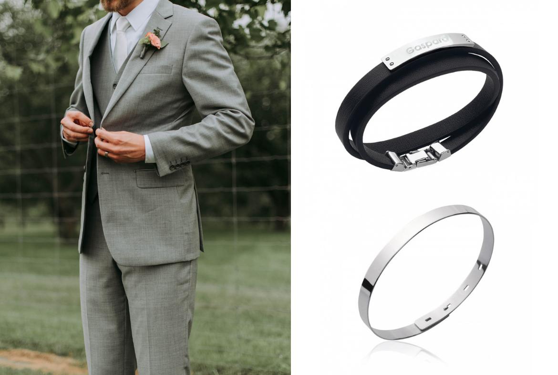 grossiste 54b77 605db Saint Valentin : 10 bracelets hommes à graver et personnaliser -