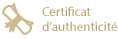 Livré avec un certificat d'authenticité