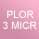 PLOR ROSE 3 microns